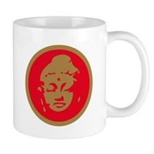 Red Buddah Mug