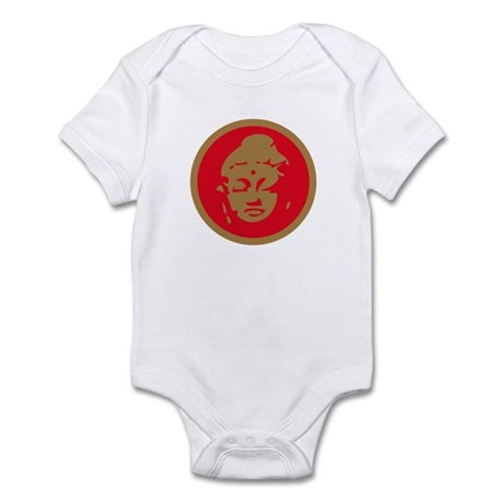 Red Buddah Infant Bodysuit