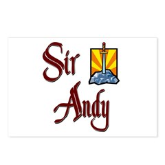 Sir Andy Postcards (Package of 8)