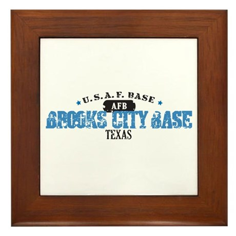 Brooks Air Force Base Framed Tile