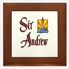 Sir Andrew Framed Tile