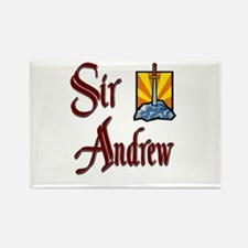 Sir Andrew Rectangle Magnet