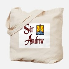 Sir Andrew Tote Bag