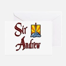 Sir Andrew Greeting Card