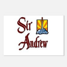 Sir Andrew Postcards (Package of 8)