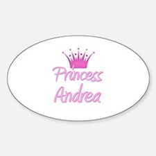 Princess Andrea Oval Decal