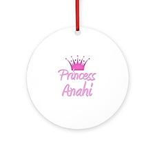 Princess Anahi Ornament (Round)