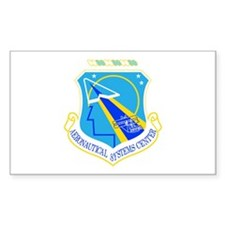 Aeronautical Systems Rectangle Decal