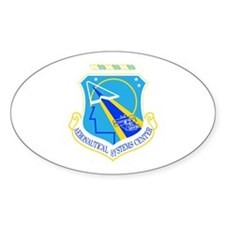 Aeronautical Systems Oval Decal