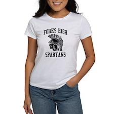 Forks High Spartans (Black) Tee