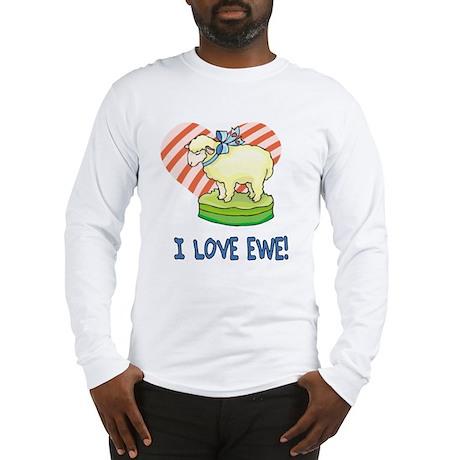 Sheep Love Long Sleeve T-Shirt