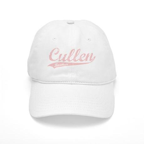 Cullen Baseball Script (Pink) Cap