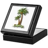 Palm tree Keepsake Boxes