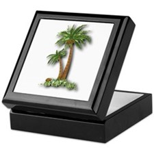 Twin palms Keepsake Box