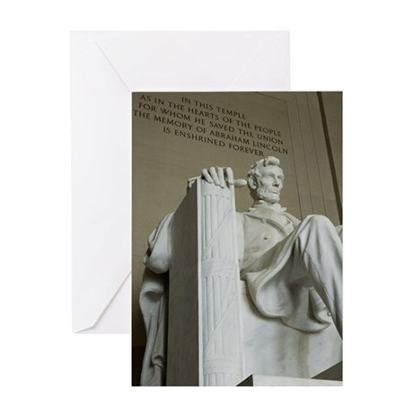 Abraham Lincoln Memorial Greeting Card