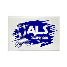 ALS Awareness Rectangle Magnet