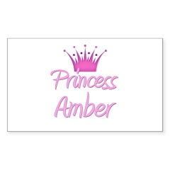 Princess Amber Rectangle Decal