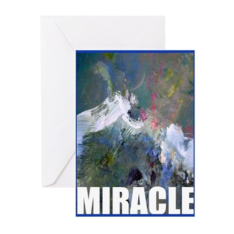 "RECOVERY ""Miracle"" Greeting Cards (Pk of"
