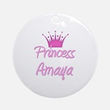Princess Amaya Ornament (Round)