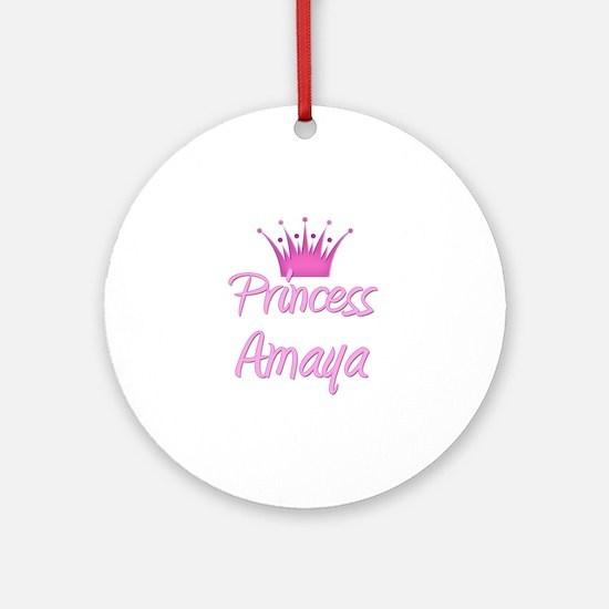 Princess Amaya Ornament (Round)