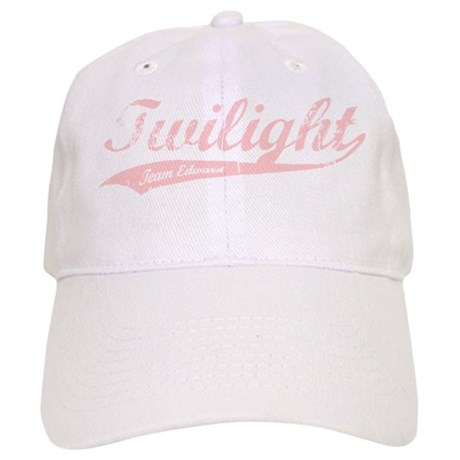 Twilight Team Edward (Pink) Cap