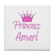 Princess Amari Tile Coaster
