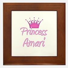 Princess Amari Framed Tile