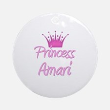 Princess Amari Ornament (Round)