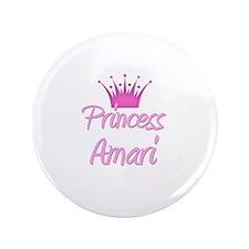 """Princess Amari 3.5"""" Button"""