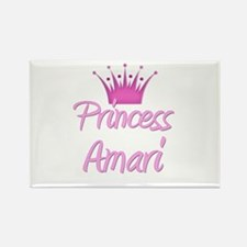Princess Amari Rectangle Magnet