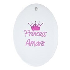Princess Amara Oval Ornament