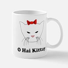 O Hai Kittay Mug