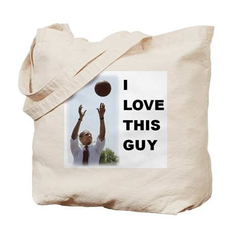 I Love This Guy Tote Bag