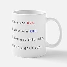 rosesareR26pwhite Mugs