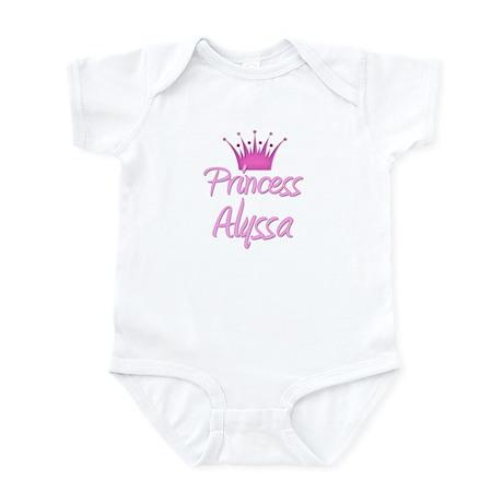 Princess Alyssa Infant Bodysuit