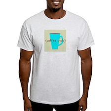 Coffee Snob Ash Grey T-Shirt