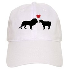 The Lion & The Lamb C (Red) Baseball Cap