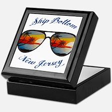 New Jersey - Ship Bottom Keepsake Box