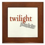 Twilight Junkie Framed Tile