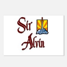 Sir Alvin Postcards (Package of 8)
