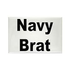 Navy Brat Rectangle Magnet