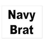 Navy Brat Small Poster