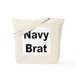 Navy Brat Tote Bag