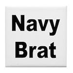 Navy Brat Tile Coaster