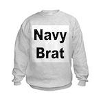 Navy Brat Kids Sweatshirt