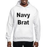 Navy Brat Hooded Sweatshirt