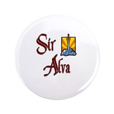 "Sir Alva 3.5"" Button"