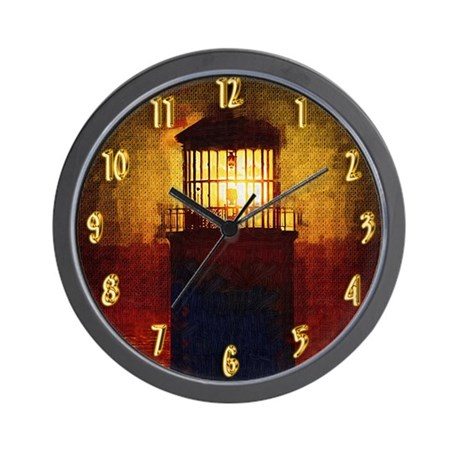 A Light of Hope in the Darkness Wall Clock