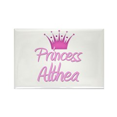 Princess Althea Rectangle Magnet