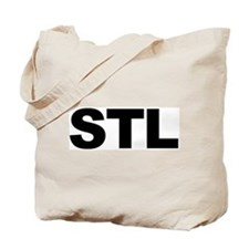 STL (ST. LOUIS) Tote Bag